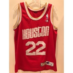 "Houston Rockets Drexler Basketball Jersey ""22"""
